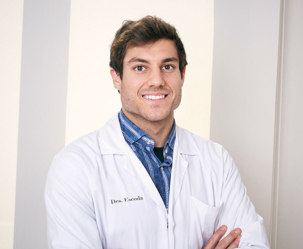Doctor Aleix Heredia, Aesthetic and Anti-Aging Medicine. Doctor Escoda Clinic in Barcelona