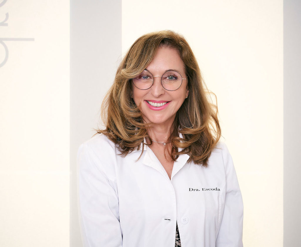 Nuria Escoda, doctor of aesthetic medicine specialist in facial and body rejuvenation in Barcelona