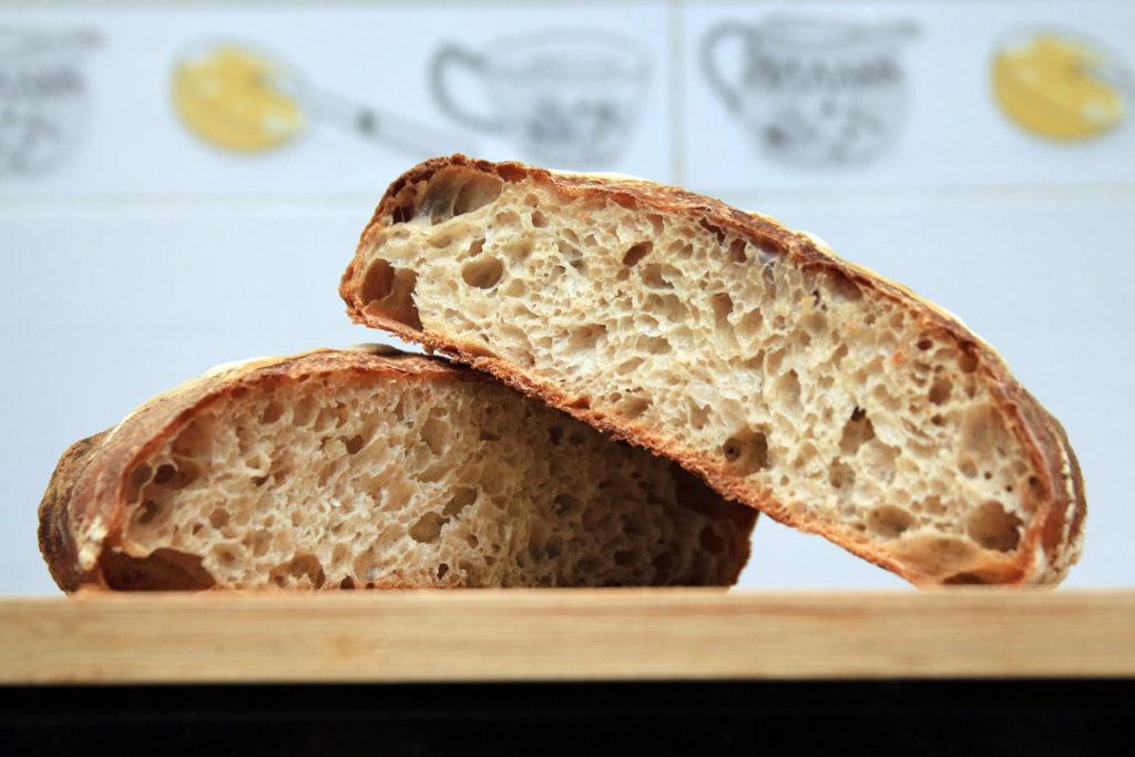 Pan de masa madre para la salud intestinal. Gut health