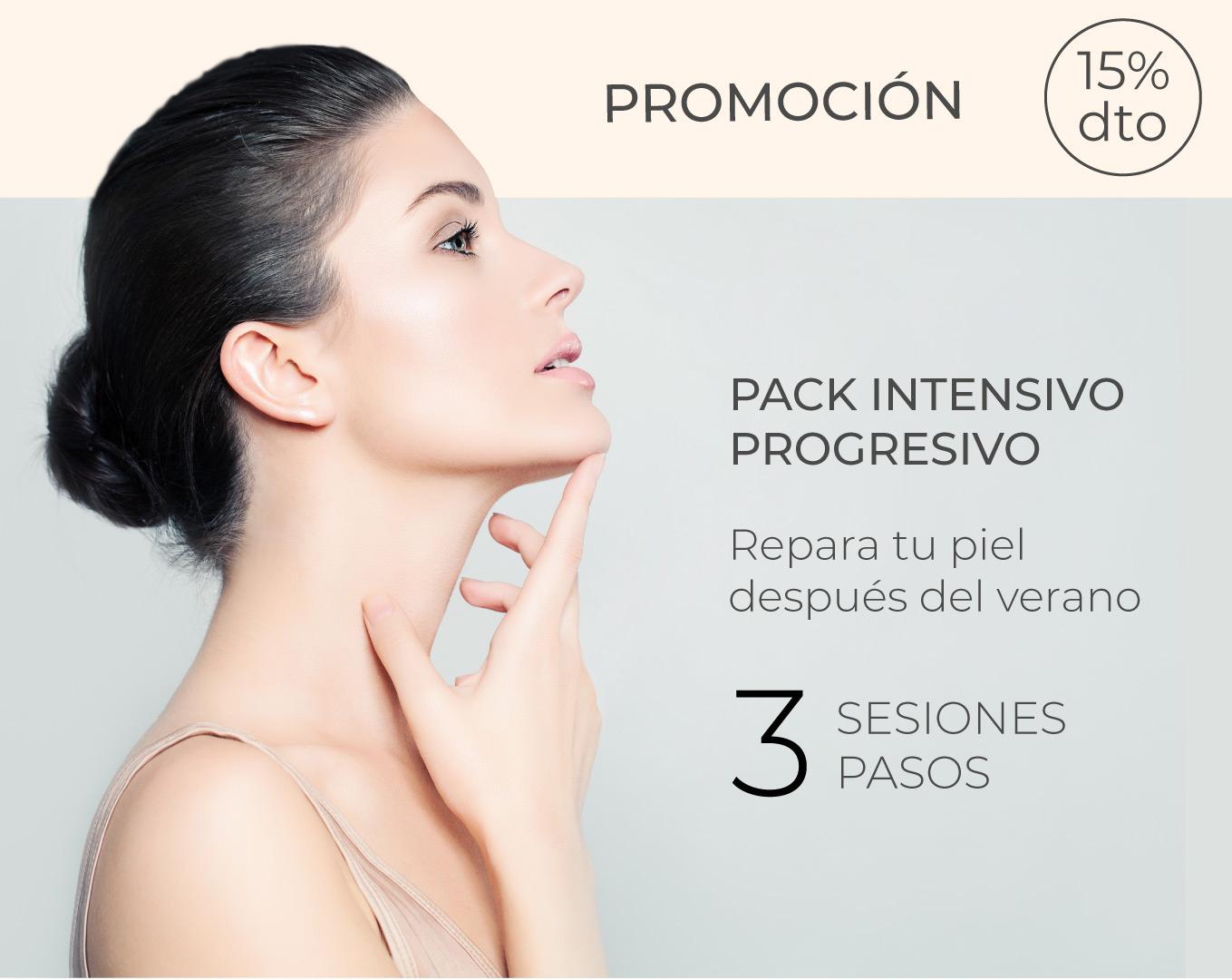 Promoción Pack intensivo progresivo de reparación de la piel post-verano