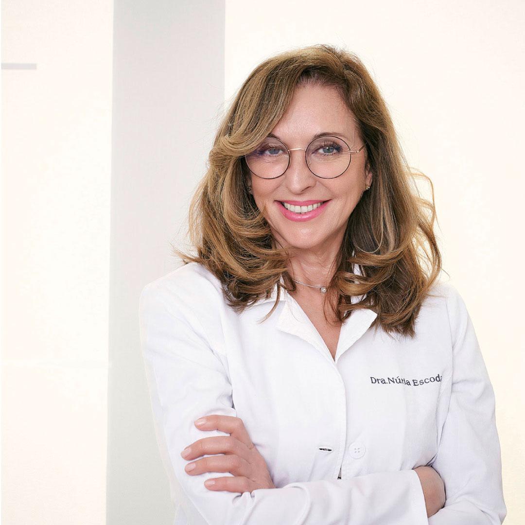 Dra Nuria Escoda, tratamientos de rejuvenecimiento de la piel y antiaging en Barcelona