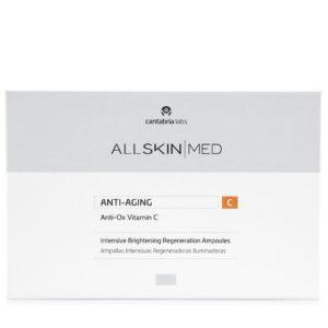 Ampollas intentisvas iluminadoras antiox C, de All Skin Med