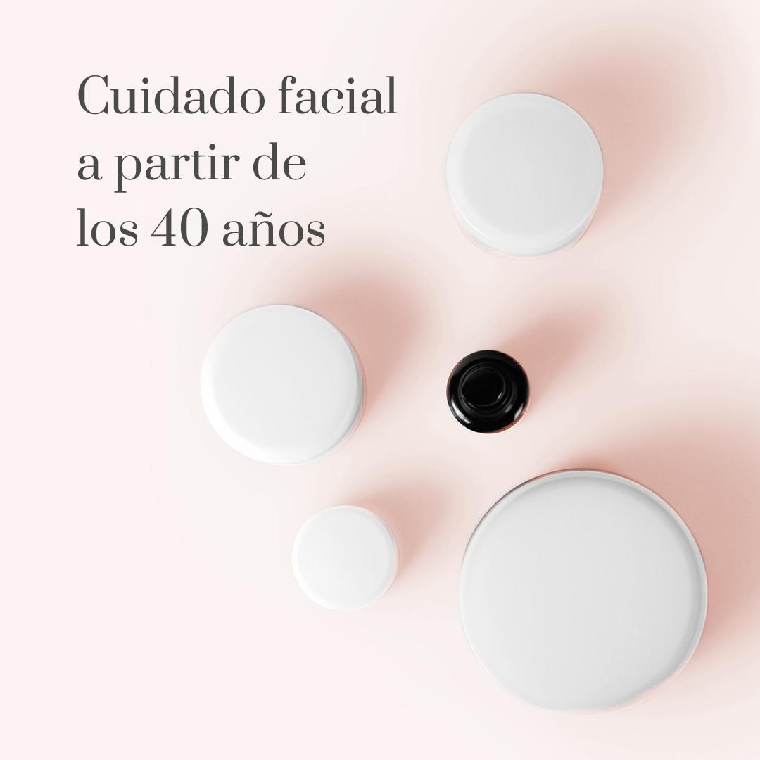 Cuidado facial a partir de los 40 años: rutina cosmética, nutricosmética y tratamientos médico estéticos en Barcelona