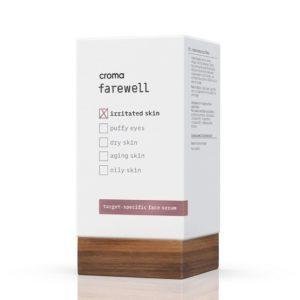 Sérum con ácido hialurónico para pieles irritadas y sensibles, Croma Farewell Irritated Skin